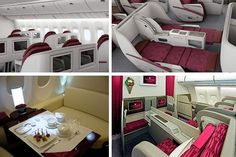 Qatar Airways First Class, gorgeous