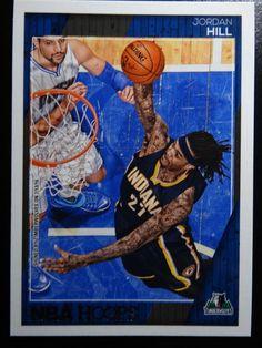 2016-17 Panini Hoops #219 Jordan Hill Minnesota Timberwolves Basketball Card #MinnesotaTimberwolves