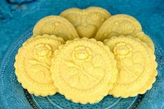 Adventures in Sugarland: Lemon Polenta Springerle Cookies