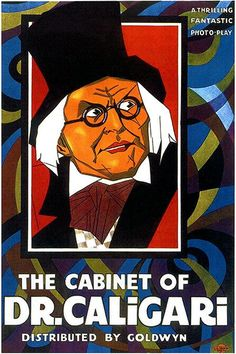 The Cabinet Of Dr Caligari - 1920 - Movie Poster