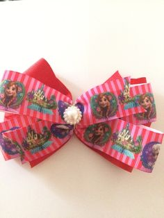 A personal favorite from my Etsy shop https://www.etsy.com/listing/237691739/red-frozen-hair-bow