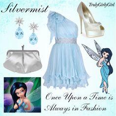"""Disney Style: Silvermist"" by trulygirlygirl on Polyvore"