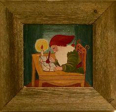 Äidin maalama joulutaulu pääsee parhaalle paikalle!