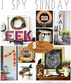 8 DIY Fall Projects