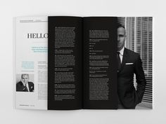 1818 Magazine by Stephanie Toole, via Behance