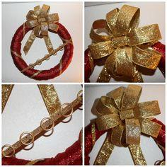 DIY180: 12 Days of Christmas Blog Tour - DIY180 Christmas Tour   Day five--FIVE golden rings....