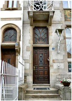 Art Nouveau Entrance,  Luxembourg