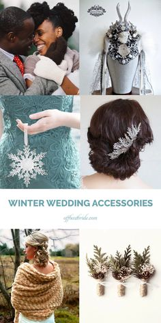 Winter wedding accessories -- huge list from @offbeatbride