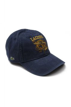Men s Gab Embroidered Lacoste Cap at Lacoste for  16.99 with FREE shipping 6e77a672d596