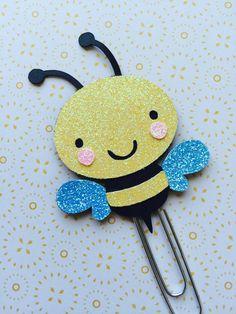 Bee Paperclip| Bee Bookmark| Planner Clips| Filofax| KikkiK| Plum Paper Planner| Inkwellpress Planner| Erin Condren