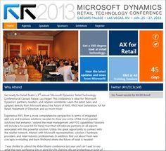 Don't forget to register for Retail Realm's 'Microsoft Dynamics' Retail Technology Conference if you can't make it to Vegas. #Social27 #rr2013conf #Technology #Microsoft