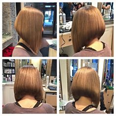 Bob Short Brown Hair, Medium Long Hair, Short Hair Cuts, Medium Hair Styles, Curly Hair Styles, Inverted Bob Haircuts, Long Bob Haircuts, Long Bob Hairstyles, Love Hair
