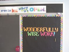 Tricks of the Trade Linky: Bulletin Boards!