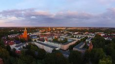 Bernau bei Berlin aus der Luft