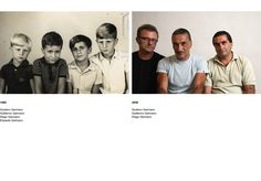 "Argentine photographer Gustavo Germano restages snapshots of Brazilian and Argentine families whose loved ones are among the ""disappeared,"" people who were tortured and murdered by dictatorial regimes in South America from the 1960s to 1980s"