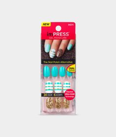 imPRESS Gel Manicure - Oval - Gossip Girl - imPRESS Gel Manicure - Brands…
