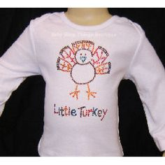 Little Turkey Rhinestone Shirt -- Baby Bling Things Boutique Online Store