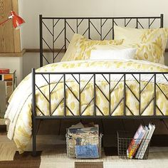 Love this bed from West Elm, $699 (king)