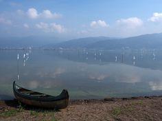 Suwa-ko Lake,Nagano