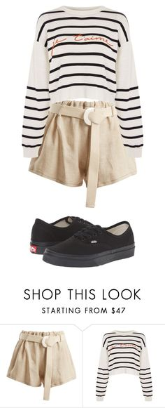 """""""Outfit"""" by elzikaa on Polyvore featuring Albus Lumen, Topshop and Vans"""