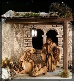 Lepi Krippe - Krippenfiguren - Nativity Scene Christmas Nativity Scene, Nativity Sets, Portal, Cribs, Christmas Decorations, Landscape, Creative, Painting, Google Search