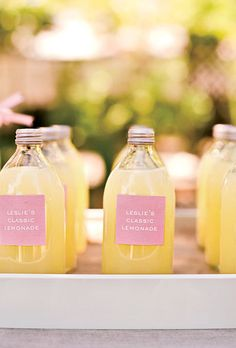 lemonade stand, but I would do this with Liberian-style ginger beer