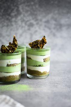 Delicious Vegan Matcha Tiramisu, an Asian Green Tea twist on my Original Vegan Coffee Tiramisu recipe. 100% Omnivore approved!