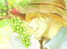 Francis in his vineyard - Art by しいのき