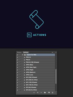 Save for Web & Devices Actions Set. Actions. $2.00