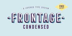 Frontage Condensed | Webfont & Desktop font | MyFonts