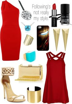 Iron Man inspired outfit Source by Marvel Inspired Outfits, Character Inspired Outfits, Fandom Fashion, Geek Fashion, Marvel Fashion, Superhero Fashion, Cosplay Outfits, Dress Outfits, Casual Outfits