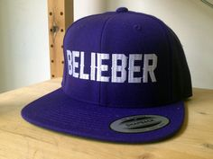 Justin Bieber Snap Back Hat..... To JUSTIN BEIBER.... when I liked him