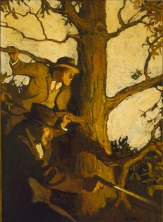 N. C. Wyeth (1882-1945) New Story Magazine, cover illustration 1912 Oil on canvas, 33 x 24 1/4 in. (83.8 x 61.5 cm)
