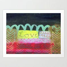 love always wins Art Print by Mati Rose Studio - $22.88