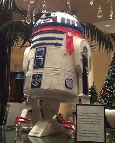 Meet the 150 pound white chocolate R2-D2