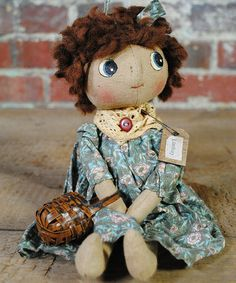 Take a look at this Lindsay Doll by Pearson's Simply Primitives on #zulily today!