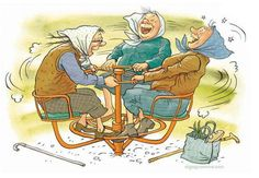 humor.quenalbertini: Aging by Olga Gromova