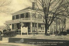 Crawfordsville Indiana, Home Again, Back Home, Small Towns, Exterior Design, Nursing, Memories, Mansions, History