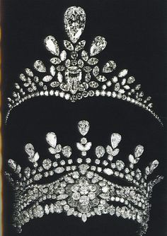 Two Tiaras created for the Queen of Egypt