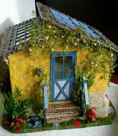 Sunshine Cottage by minis on the edge, via Flickr