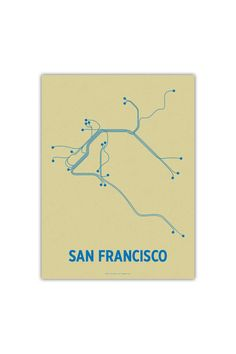 $25 Line Posters San Francisco 12 - On JackThreads: http://www.jackthreads.com/invite/tobytoby7