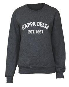 Kappa Delta Est 1897 Pullover