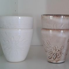 Category: Glaze, White, Off-White, Author: Cecilia Ekengren, Notes: A nice, glossy white glaze that works good on both light and dark clays.
