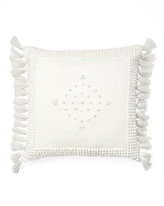 Montecito Outdoor Pillow CoverMontecito Outdoor Pillow Cover - fun with the tassels