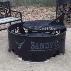 Custom Metal Fire Pit