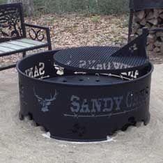 Custom Metal Fire Pit