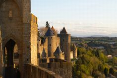 France-places-to-go, a medieval city of Carcassonne.