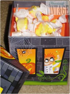 Vivaciously Vintage: Halloween Care Package Ideas!