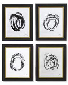 Abstract Brushstrokes | Williams-Sonoma