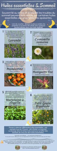 Les huiles essentielles du sommeil - Health and wellness: What comes naturally Le Trouble, Stress, Understanding Anxiety, Natural Cosmetics, Health And Wellbeing, Health Remedies, Doterra, Healthy Tips, Natural Health